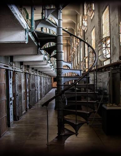 couloir cellules alcatraz