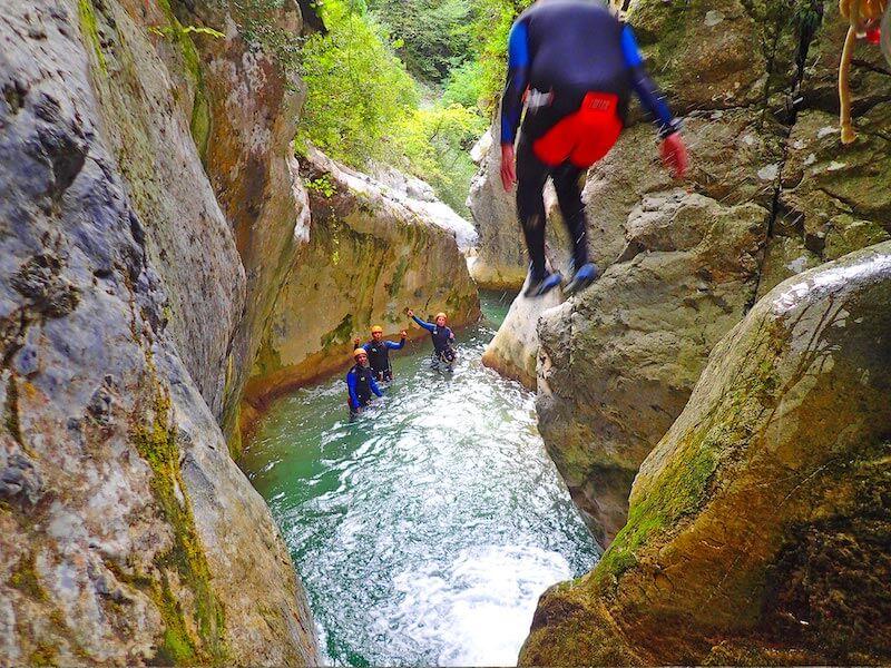 canyoning cote azur