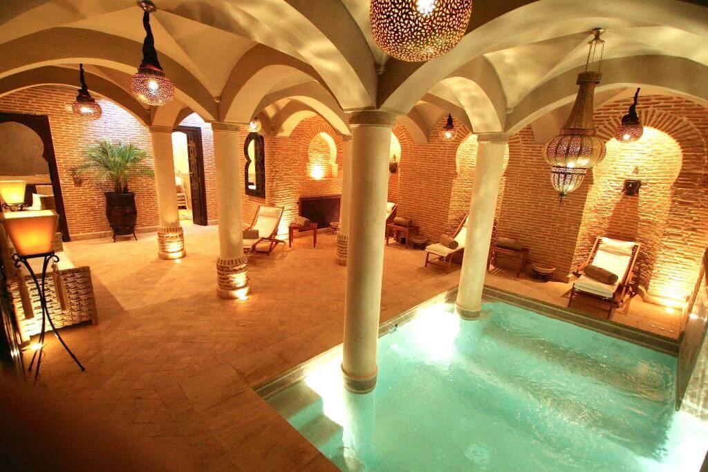 Riad Omri piscine
