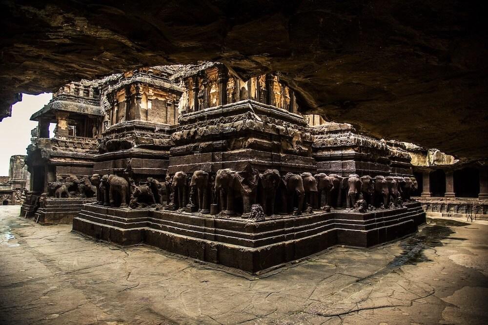 grotte temple Ellora