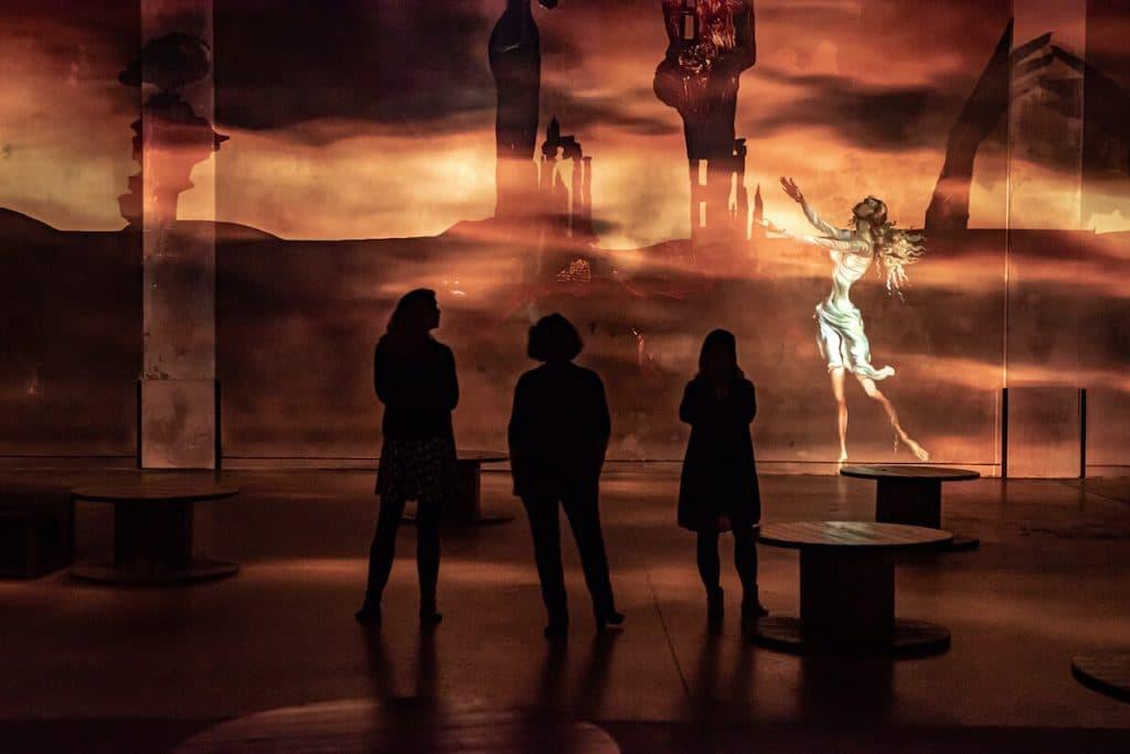 expo dali atelier des lumières
